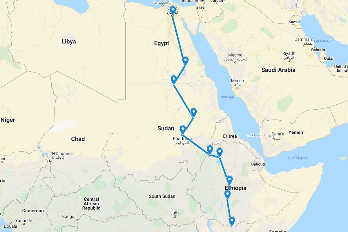 Moyale to Cairo